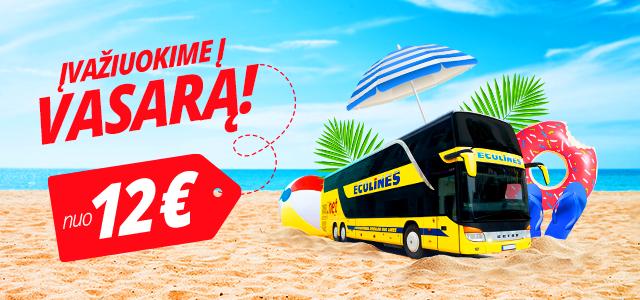 Šios vasaros kelionių maršrutai su ECOLINES!