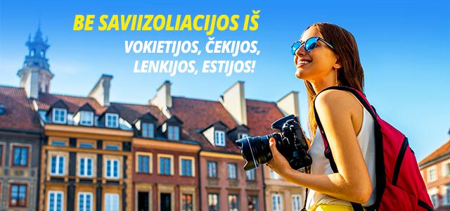 Ecolines: Puikios naujienos atvykstantiems / grįžtantiems į Lietuvą iš Vokietijos, Čekijos, Lenkijos, Estijos!