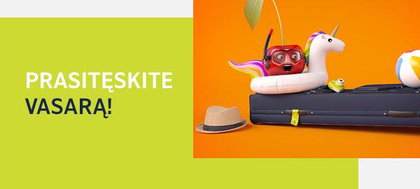 Pratęskite savo vasarą! Džiuginantys sezono pabaigos pasiūlymai jums!