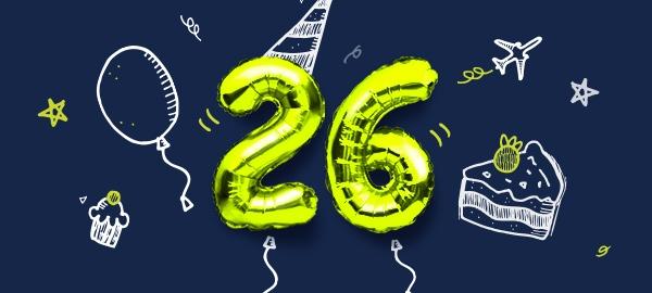 airBaltic gimtadienio pasiūlymas